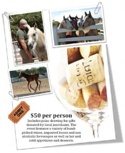 Come join the first Pegasus Wine & Feed Fundraiser